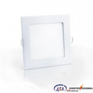 Светильник  LED SLIM/Sq-3 3Вт 4200К квадр. встр. 90*90мм