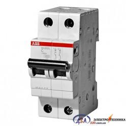 Автоматический выключатель 2р 25А С 4,5Ка АВВ  Basic M
