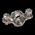 Скоба металл.двухкомпон. d25-26мм IEK