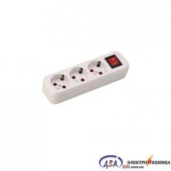 Колодка з/з 3гн. с викл.LILA  (720-0300-302)