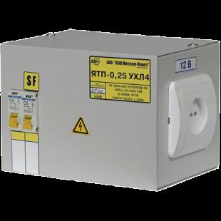 Ящик с понижающим трансформатором ЯТП-0.25 220/24-2   36 УХЛ4 IP30, ІЕК