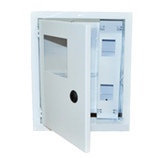 Ящик учета ЯУР-3Н-24 Э навесной под 3ф, IP 31, 24 групп, ШхВхГ 330х428х120