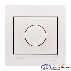 Диммер 1000 Вт   белый, скрытой  установки  DERIY  702-0202-157