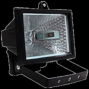 Прожектор ИО 150 галогенный чорный IP 54 IEK