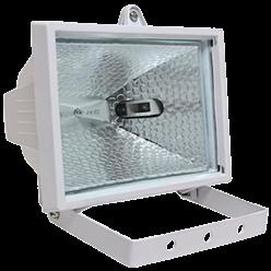 Прожектор ИО 500 галогенный белый IP 54 IEK