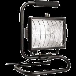 Прожектор ИО 150 П (переноска) галогенный черный IP 54  IEK