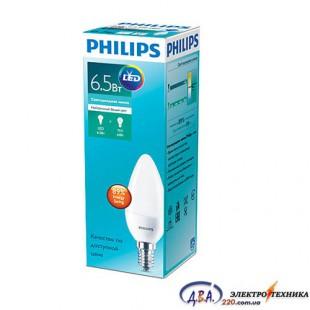 Светодиодная лампа Philips ESS LED Candle 6.5-60w E14 840 B38N (929001811307)