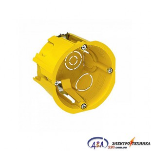 Коробка електромонтажная глубокая 1-ная под кирпич/бетон( КМЕ глубокая ц/б -1)
