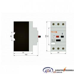 Авт. вык. двигателя АЗД 1-32  3 полюса  40А - 63A    380В