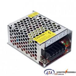 Блок питания для светодиодной ленты - 15W (IP20 - без влагозащиты)