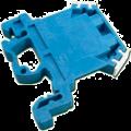 Зажим наборный ЗНИ- 2,5мм2 синий (без маркера) IEK