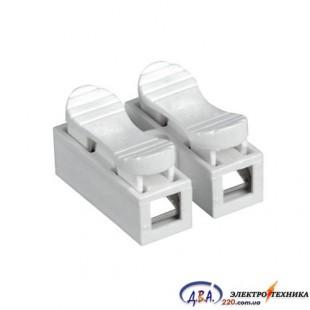 Разъем кабеля (коннектор) 2 полюса 1,5мм