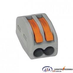 Строительно-монтажная клемма СМК 222-412 IEK