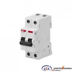 Автоматический выключатель 2р 63А С 4,5Ка АВВ  Basic M