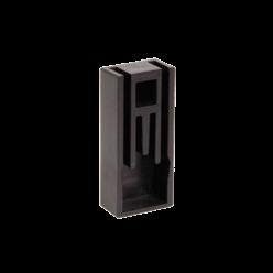 Заглушка для шины типа PIN, 2Р 100А шаг 27 мм IEK