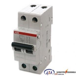 Автоматический выключатель 2р 16А С 4,5Ка АВВ  Basic M