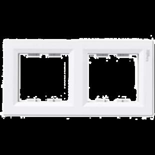Рамка  Asfora  2-постовая, белая, EPH5800221, Schneider Electric